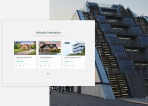 Immobilien Webseite Beispiel 2