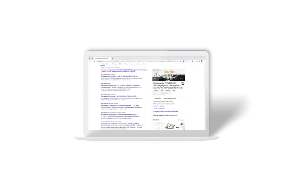 Google My Business Mockup