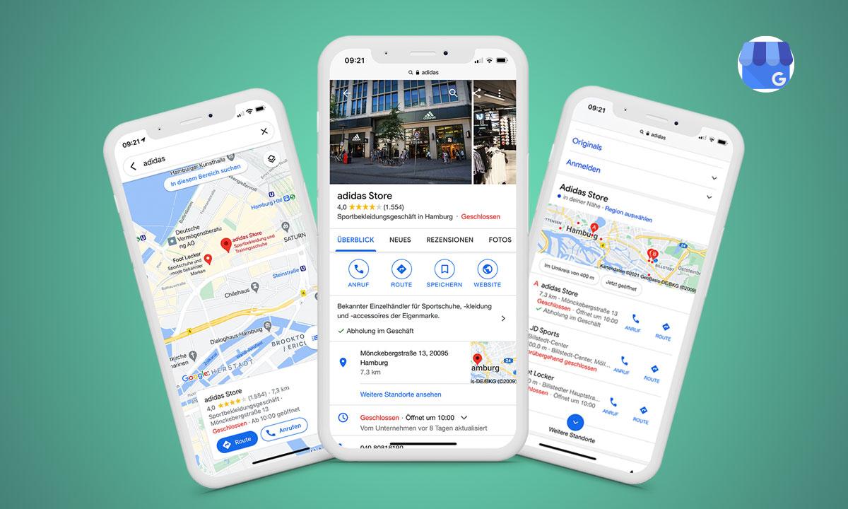 Google My Business Beitragsbild